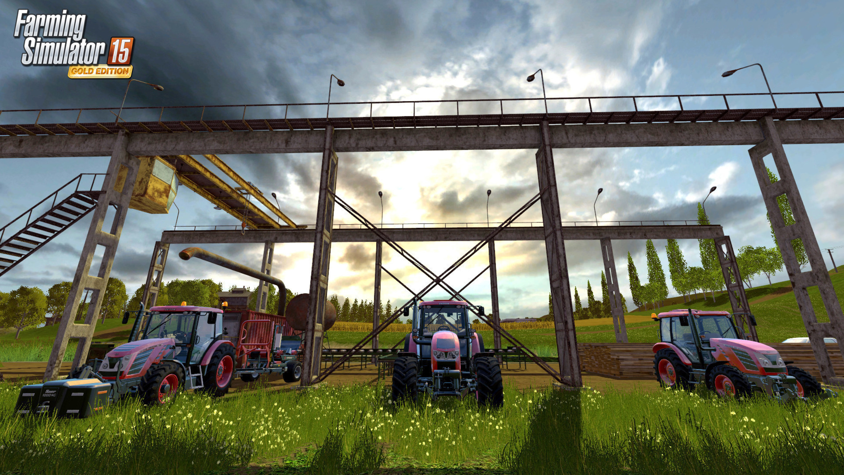 Farming Simulator 15 Gold Lands End Of October With A Load Of New Features