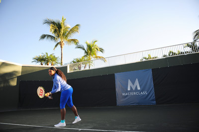 Serena Williams teaches tennis with launch of MasterClass