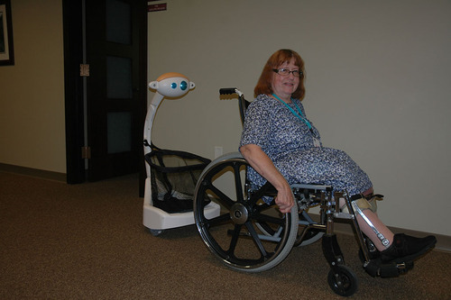 Help is here for the Elderly and Disabled! (PRNewsFoto/Five Elements Robotics) (PRNewsFoto/FIVE ELEMENTS ...