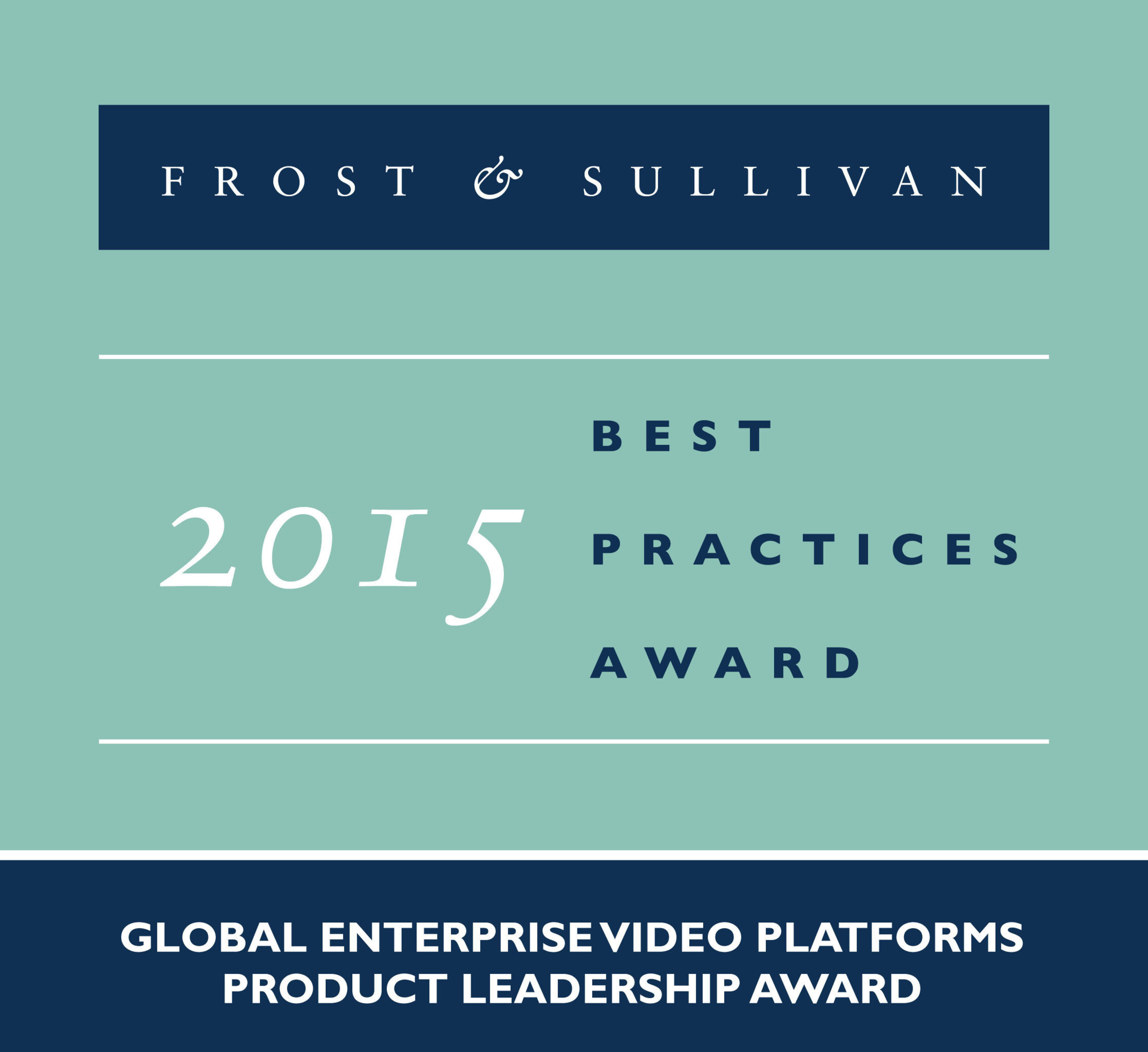 Frost & Sullivan Names MediaPlatform the Product Leader in Enterprise Video Platforms
