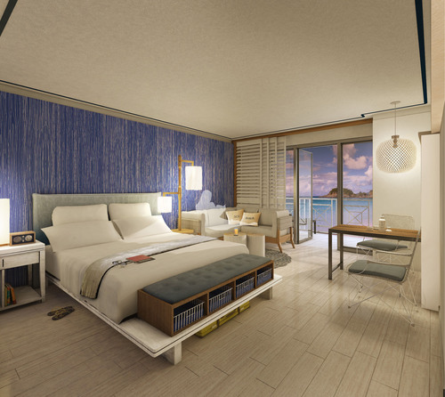 Coming this fall to St. Thomas, U.S. Virgin Islands is the Paul Vega designed stylistic dream room at the new ...