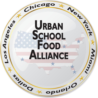 Urban School Food Alliance (USFA) Logo.  (PRNewsFoto/Urban School Food Alliance (USFA))