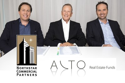 Northstar Commercial Partners and ALTO Real Estate Funds close on 24-property acquisition for $224 million. From L to R: Brian Watson (Founder & CEO, Northstar Commercial Partners), Mody Kidon (Chairman & Founder, ALTO), and Yaniv Melamud (Co-Founder & CEO, ALTO)