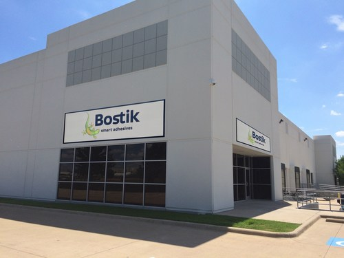 New Bostik Production & Training Facility, Dallas (PRNewsFoto/Bostik) (PRNewsFoto/Bostik)