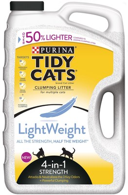 New Tidy Cats LightWeight 4-in-1 Strength