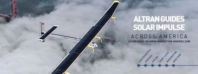 Altran guides Solar Impulse across America.