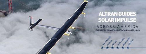 Altran prepara la rotta della trasvolata transamericana di Solar Impulse