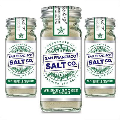 San Francisco Salt Company Introduces Whiskey Smoked Irish Sea Salt