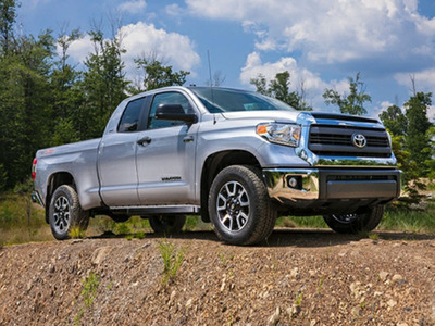 The 2014 Toyota Tundra is finally available in the Toyota of Naperville showroom. Months of waiting have finally paid off with the arrival of this truck that will certainly turn some heads.  (PRNewsFoto/Toyota of Naperville)