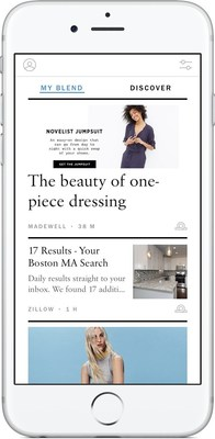 Introducing My Blend: New iPhone App Turns Your Lifestyle Email Content Into A Personalized Magazine