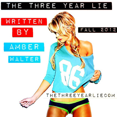 The Three Year Lie a novel, written by Amber Walter (featured in photo).  (PRNewsFoto/Penman Publishing)
