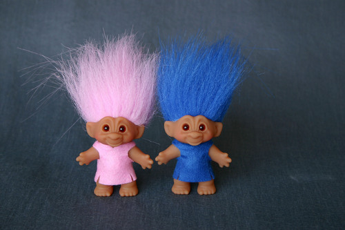 DreamWorks Animation brings Good Luck Troll Dolls out of hiding. (PRNewsFoto/DreamWorks Animation SKG, Inc.)