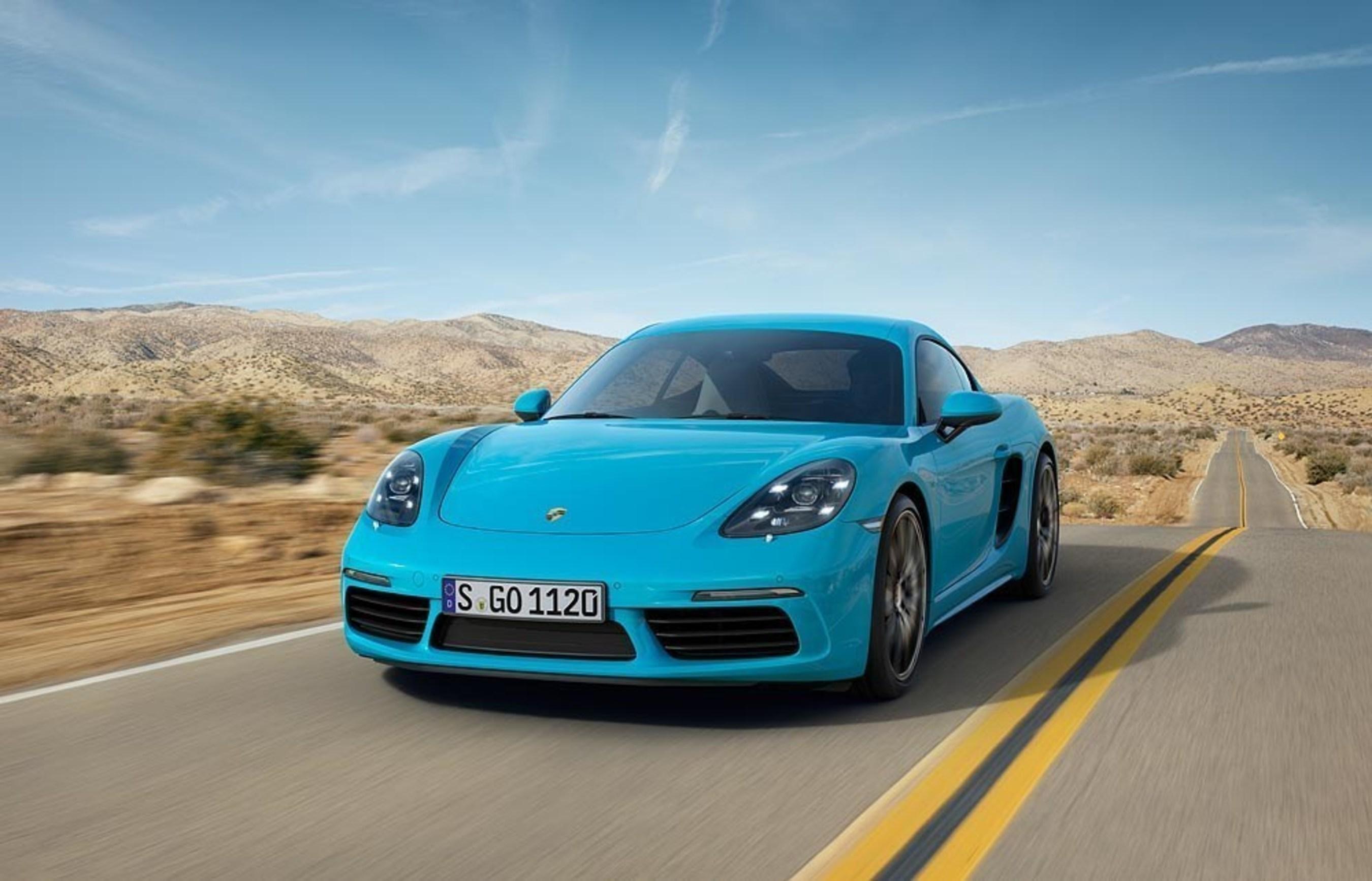 Porsche announces the new 718 Cayman
