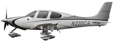 A true sense of traditional, elegant and luxurious style is captured in the new 2014 Cirrus Aircraft Platinum Appearance premium upgrade. (PRNewsFoto/Cirrus Aircraft) (PRNewsFoto/CIRRUS AIRCRAFT)