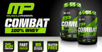 Combat 100% Whey(TM):  An ultra-premium blend containing 100% whey protein developed to support lean muscle maintenance and nutrient replenishment, fueling muscle recovery and performance. Every scoop of COMBAT 100% WHEY(TM) is packed with 25g of 100% whey protein, which digests quickly to help satisfy daily protein needs. In addition, COMBAT 100% WHEY(TM) is low in fats and free of artificial dyes, fillers and gluten. Easily taken any time of day, before or after a workout. COMBAT 100% WHEY(TM) fuels the athlete inside of you with an ultra-premium protein experience, amazing taste, and easy to mix powder.