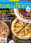 Celebrate Autumn, Halloween and Harvest Season in the Brand-New, First-Ever Taste of Home October Issue.  (PRNewsFoto/Taste of Home)
