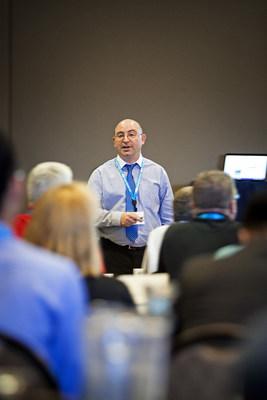 Mark Fenelon, PhD, speaks at Alpha Summit 2015.