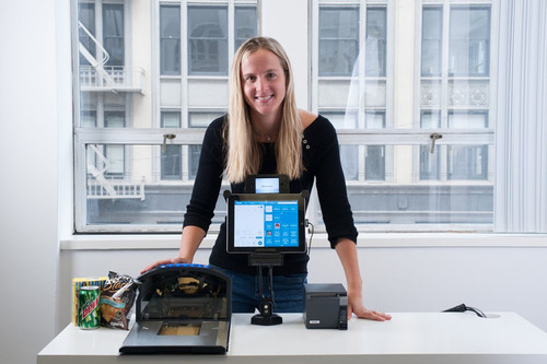 Lisa Falzone Creator of Enterprise Apple iPad POS for multi-location chains, announced in Forbes
