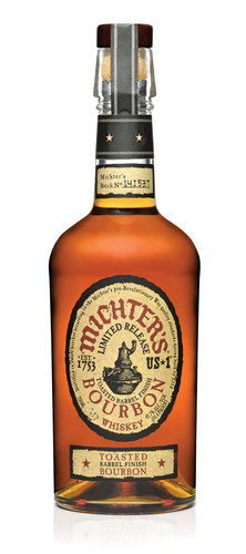 Michter's releases new US*1 Toasted Barrel Finish Bourbon (PRNewsFoto/Michter's Distillery)