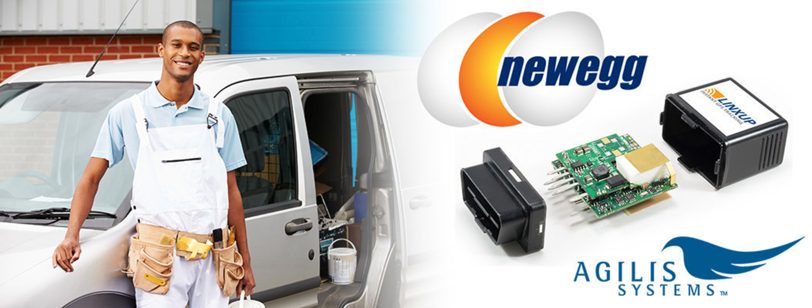Agilis Systems Expands Online Sales of GPS Tracking Devices to Newegg.com