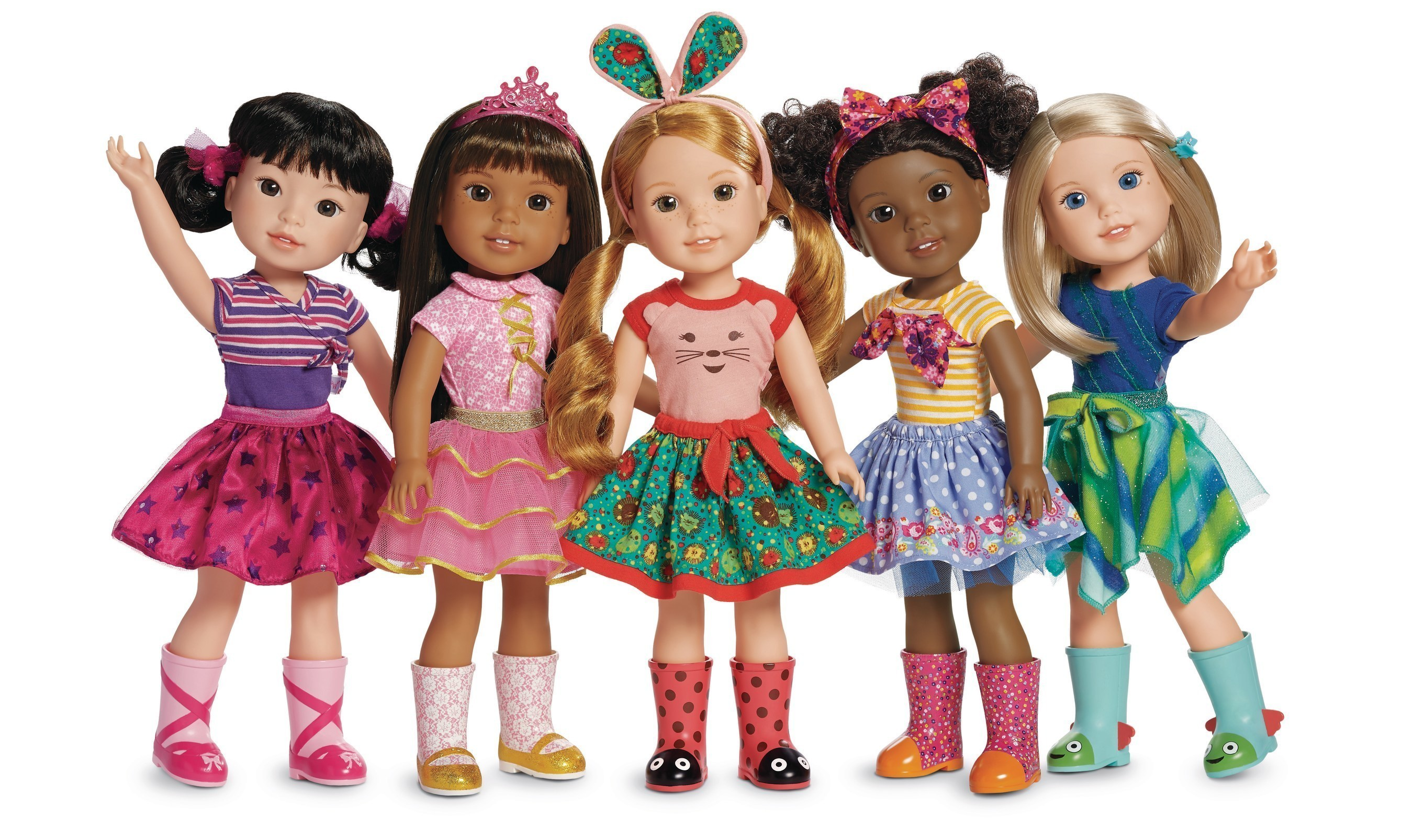 American Girl Debuts WellieWishers -- A New Content And Doll Lifestyle Brand For Younger Girls Ages 5 To 7