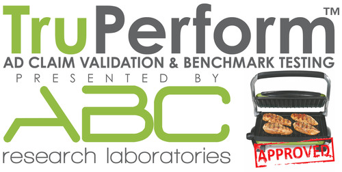 TruPerform(TM) is a proprietary benchmarking and advertising claim validation process backed by the ISO accredited ABC Research Laboratory microbiology and chemical testing labs. Its primary application is testing food preparation and food storage ...