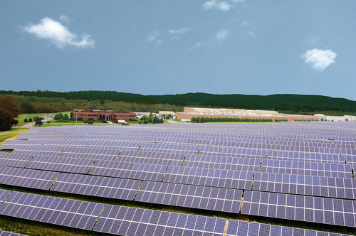 Largest Solar Farm in Pennsylvania Completed at Snyder's-Lance.  (PRNewsFoto/Snyder's-Lance, Inc.)