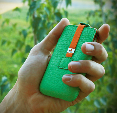 Vaja's handcrafted, high-quality leather goods include cases for smartphones, tablets and laptops, as well as small leather goods, such as wallets, mouse pads and eyeglass cases.  (PRNewsFoto/Case-Mate)