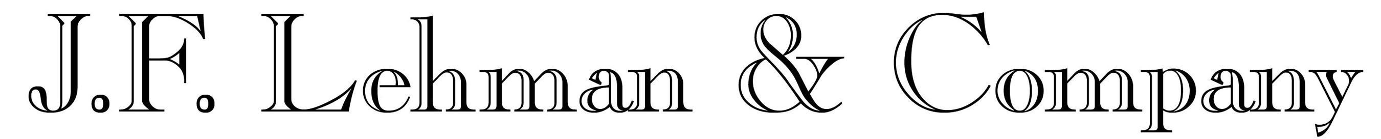 J.F. Lehman & Company logo. (PRNewsFoto/J.F. Lehman & Company)