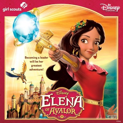 Available in English and Spanish, The Elena of Avalor Leadership Guide by Girl Scouts and Disney Channel showcases leadership activities and conversations parents and caregivers can engage their preschool through fifth-grade girls in to boost their everyday leadership skills and prepare them to create the future they imagine.