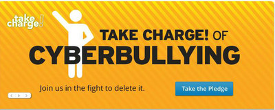 Pledge to help delete cyberbullying at cox.com/takecharge. (PRNewsFoto/Cox Communications)