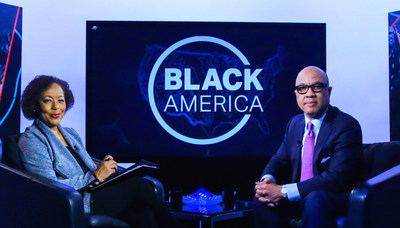 "Carol Jenkins and Ford Foundation President Darren Walker on CUNY TV's ""Black America"""