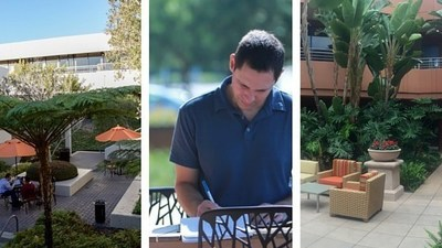 Top Five Places to Work Outside in Orange County
