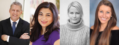 New additions to 360bespoke: Steven Holt, Rania Sedhom, Kim Myers Robertson, and Alexa Starr.