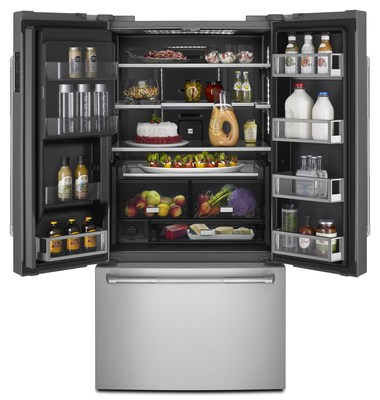 The brand's first Wi-Fi connected refrigerator with Obsidian interior