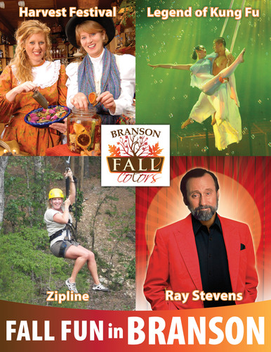 New Shows and Attractions Add to Fall Fun in Branson