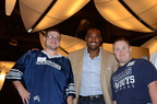 Warren Center Kids and Darren Woodson.  (PRNewsFoto/Reflect)
