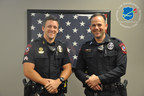 Sergeant Anthony Schnacky and Officer Matthew Curry Receive June 2015 Officer of the Month Award.