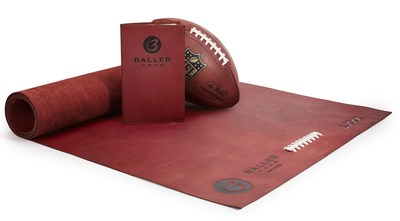 BallerYoga Unrolls Premium Leather Yoga Mats for Uncompromising Athletes