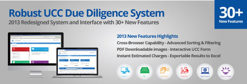 First Corporate Solutions Launches the Company's Most Advanced Online Due Diligence System for Lien Searching, UCC Filing & Portfolio Management, and Monitoring.  (PRNewsFoto/First Corporate Solutions)