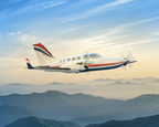The Excalibur 421 will feature twin Pratt & Whitney PT6A-135A engines and Garmin avionics.
