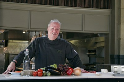 Chef Steve Schimoler. Photo courtesy of Kinetico. (PRNewsFoto/Kinetico)