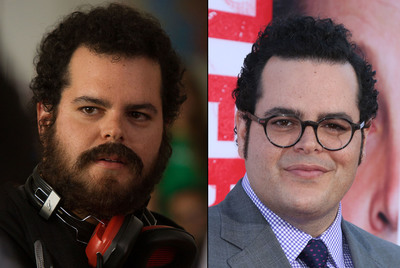 Actor Josh Gad arrives on the red carpet with a new clean-cut style from AXE(TM) Hair for the premiere of The Internship on May 29, 2013 in Los Angeles.  (PRNewsFoto/AXE Hair)