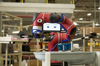Rethink Robotics' Sawyer on the factory floor.
