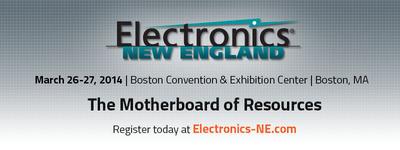 Electronics New England at Boston Convention & Exhibition Center. (PRNewsFoto/UBM Canon) (PRNewsFoto/UBM CANON)