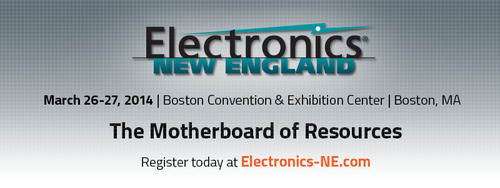 Electronics New England at Boston Convention & Exhibition Center.  (PRNewsFoto/UBM Canon)
