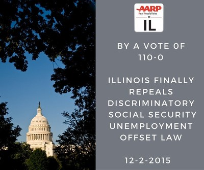 Illinois No Longer Lone Holdout Punishing Older Jobless Workers