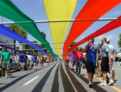 The City of Wilton Manors will permanently raise the pride flag at Jaycee Park on May 24, 2016 to permanently symbolize that Wilton Manors has become a place where LGBTQ individuals and non-LGBTQ individuals, can live, work, and raise their families.