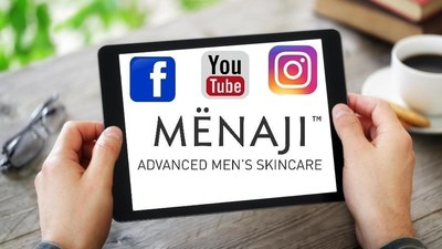 Posting, sharing and reviewing gets MENAJI Mens Skincare customers rewards now more than ever.