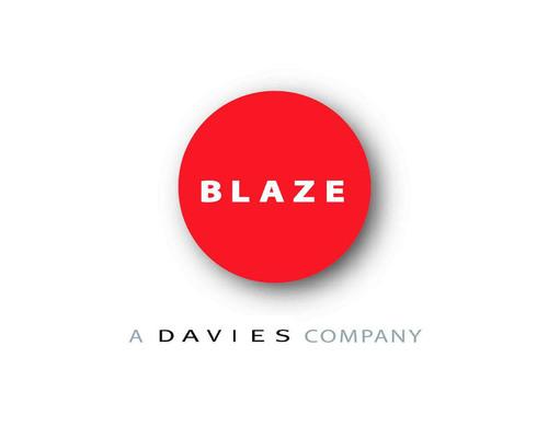 BLAZE PR logo.  (PRNewsFoto/BLAZE PR)
